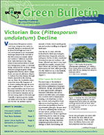 Green Bulletin newsletter