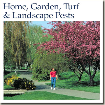home, garden, turf and landscape pests