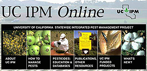 Graphic of UC IPM Online