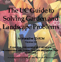 Photo of UC Guide to Solving Garden and Landscape Problems: An Interactive CD.