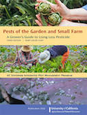 Photo of the book, Pests of the Garden and Small Farm; A Grower's Guide to Using Less Pesticide.