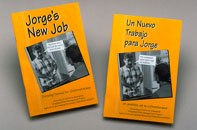 Photo of the cover of the book, Jorge's New Job.
