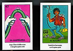 Photos of la manguera and el macho