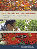 Cover of the book, Pests of Landscape Trees and Shrubs, Third Edition.