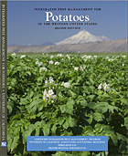 Photo of the manual, IPM for Potatoes