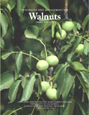 Photo of cover of the book, Integrated Pest Management for Walnuts.
