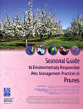 Cover of Seasonal Guide to Enviromentally Responsible Pest Management Practices in Prunes