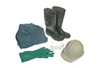 Personal protective equipment.