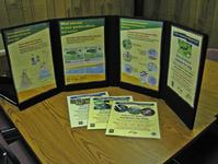 IPM and water quality posters and display for UC Master Gardeners.