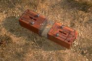Box type gopher traps set for gopher control